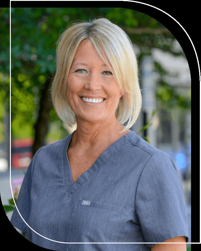 Dr. Jill DuLac smiling outdoors